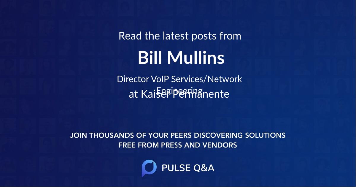 Bill Mullins