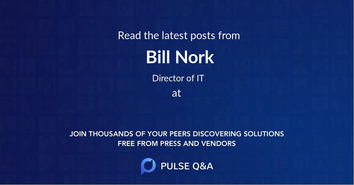 Bill Nork