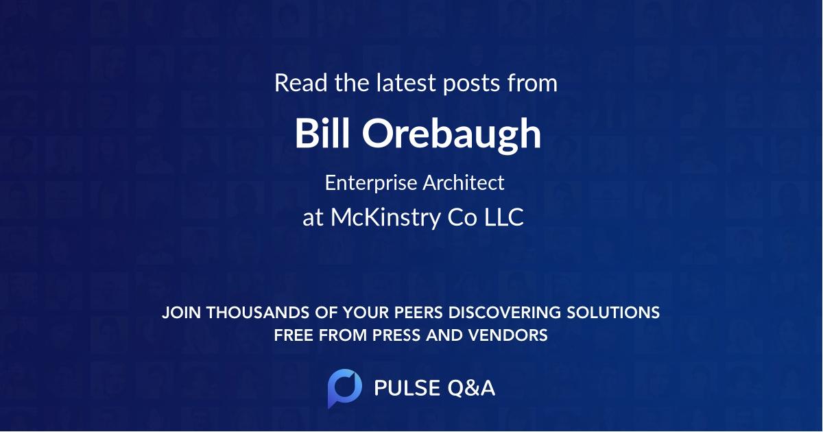 Bill Orebaugh