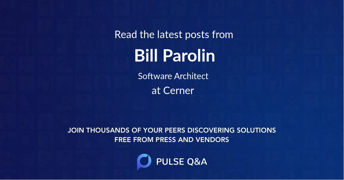 Bill Parolin