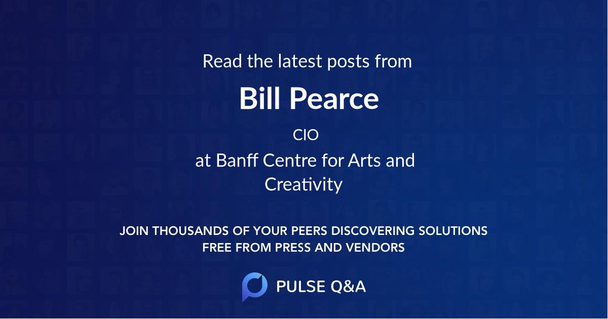 Bill Pearce