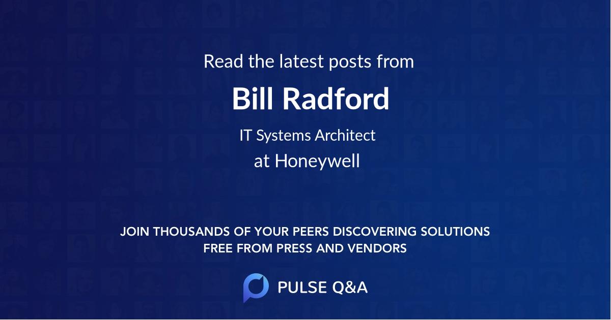 Bill Radford