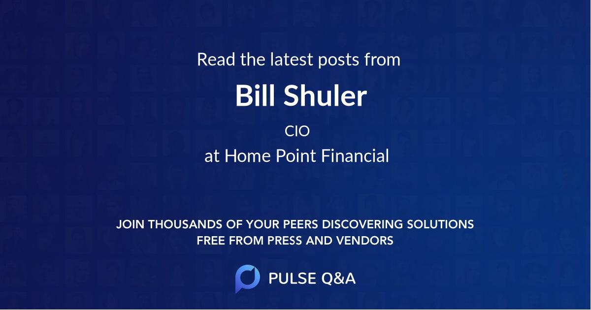 Bill Shuler