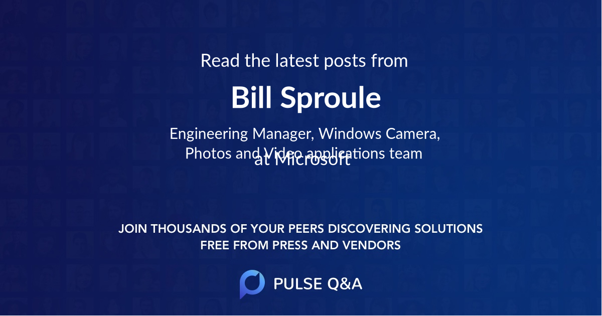 Bill Sproule
