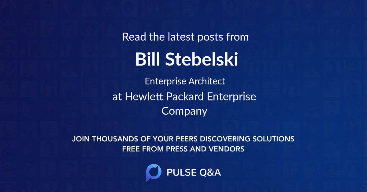 Bill Stebelski