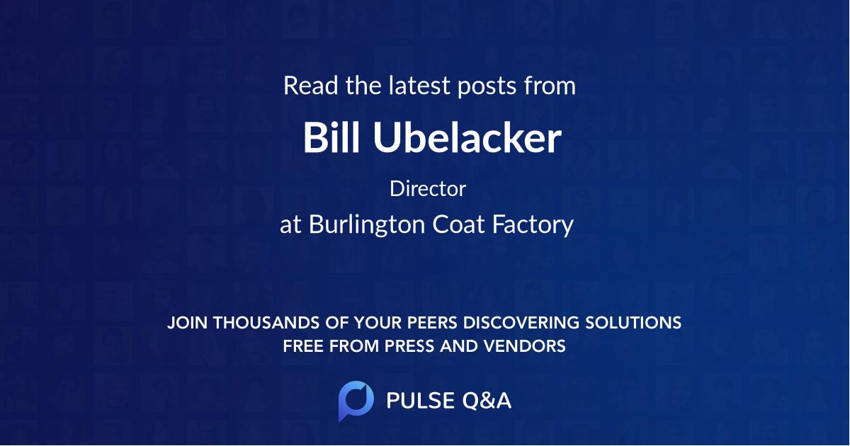 Bill Ubelacker