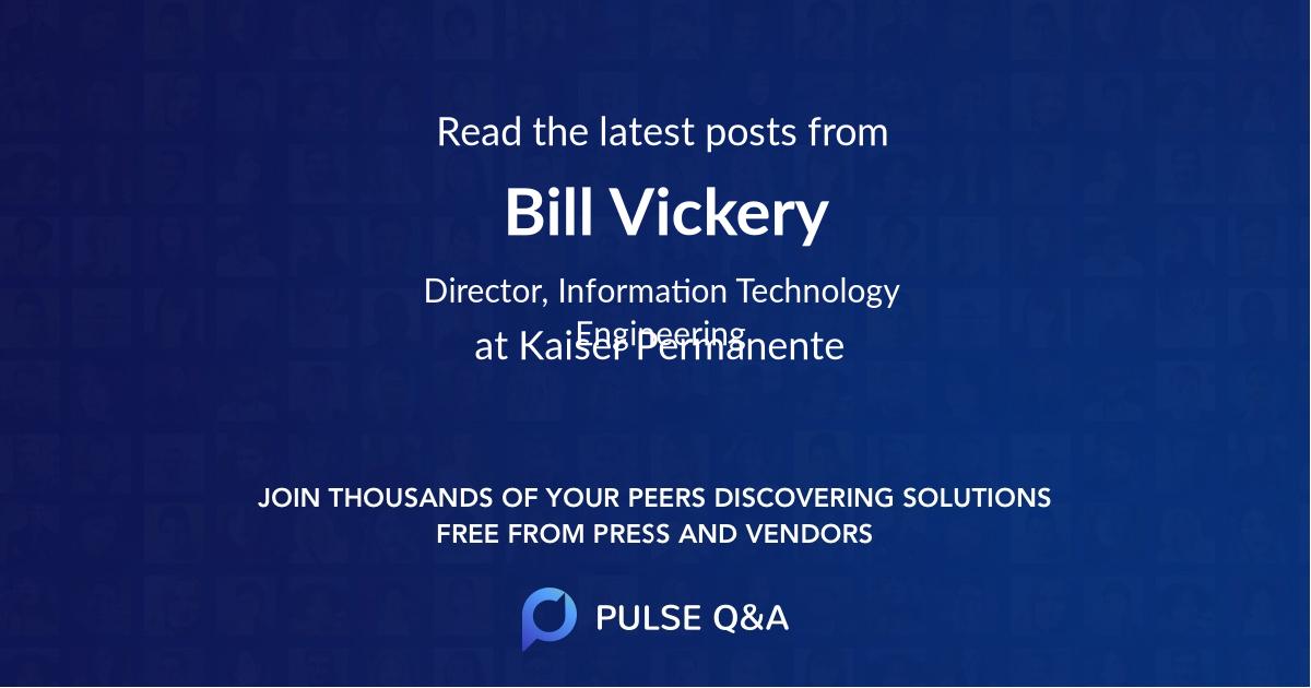 Bill Vickery