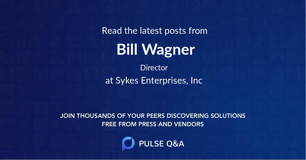 Bill Wagner