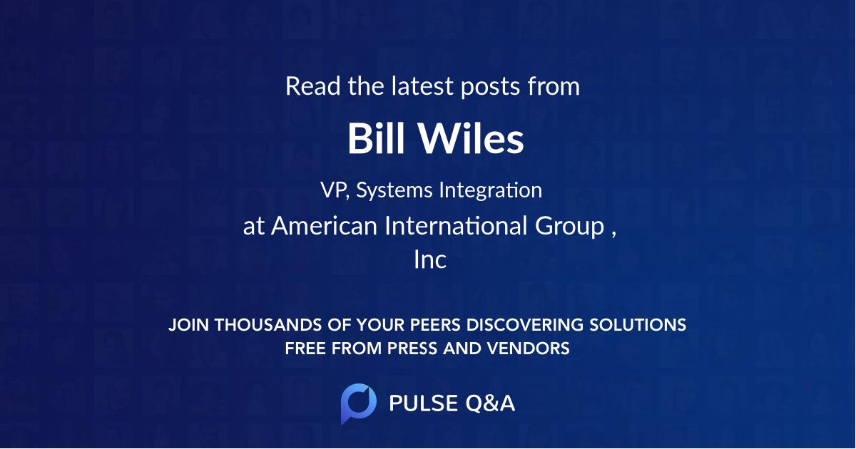 Bill Wiles