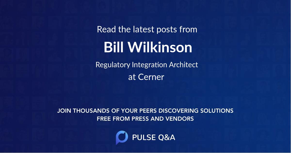 Bill Wilkinson