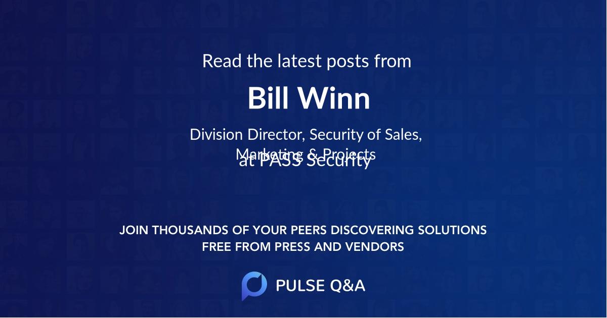 Bill Winn