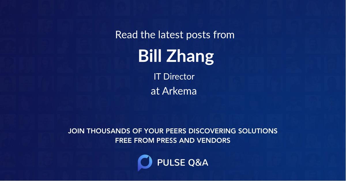 Bill Zhang