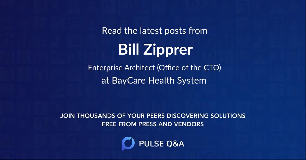 Bill Zipprer