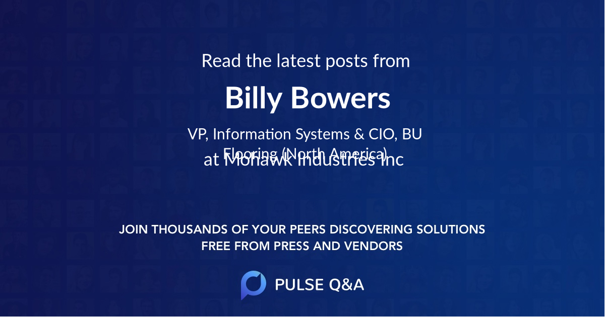 Billy Bowers