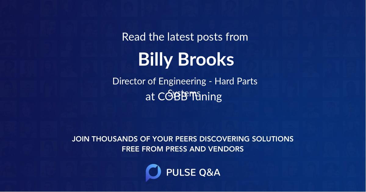 Billy Brooks