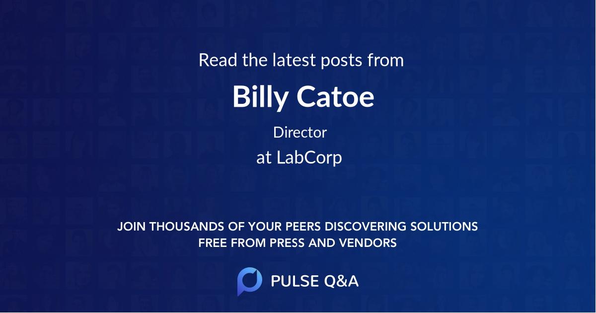 Billy Catoe