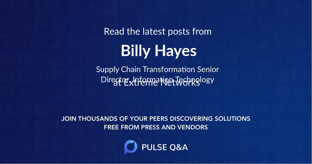 Billy Hayes