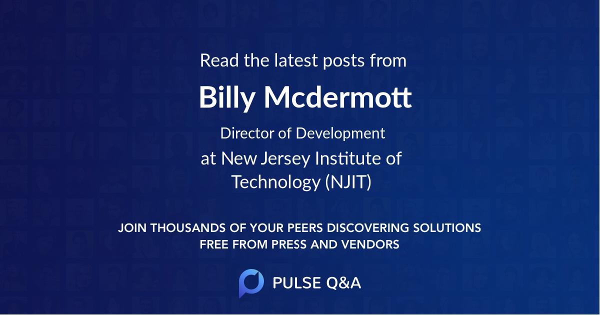Billy Mcdermott