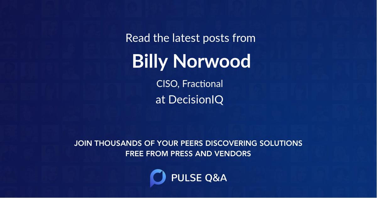 Billy Norwood