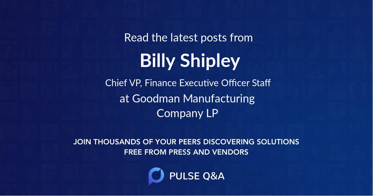 Billy Shipley