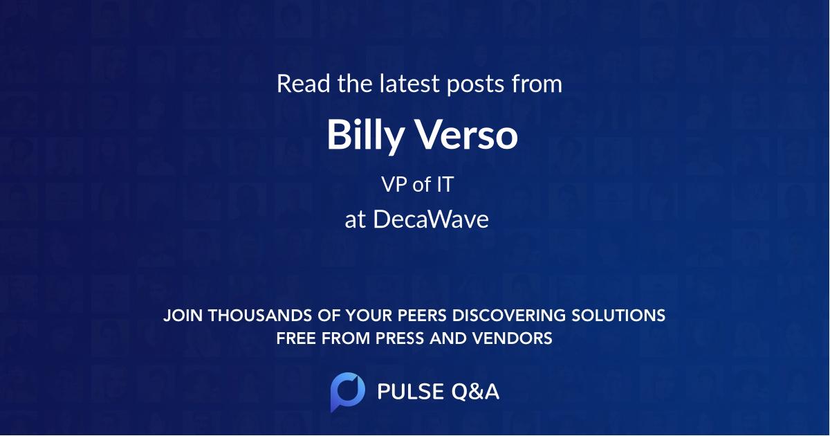 Billy Verso