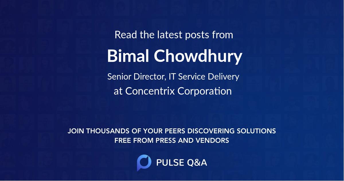 Bimal Chowdhury