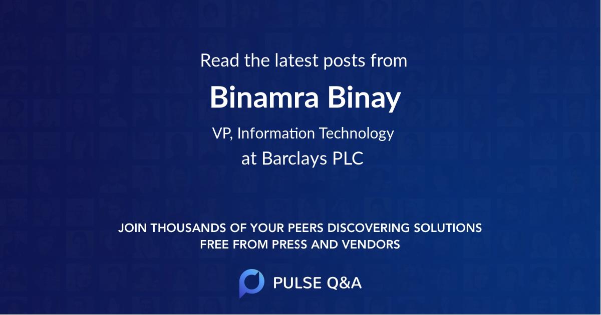 Binamra Binay