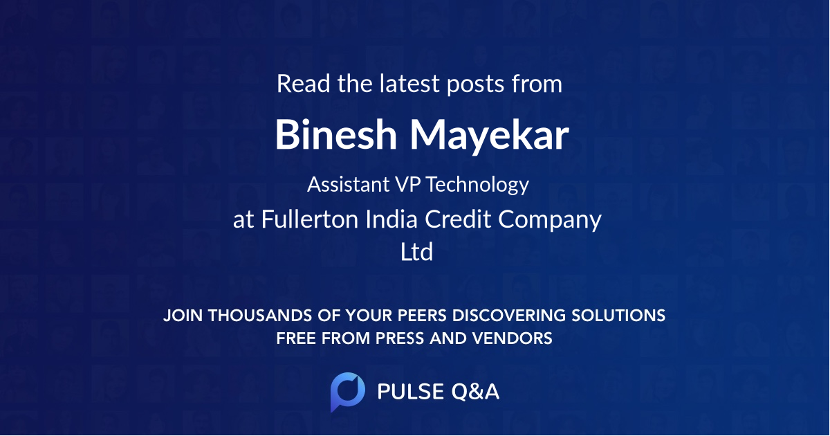 Binesh Mayekar