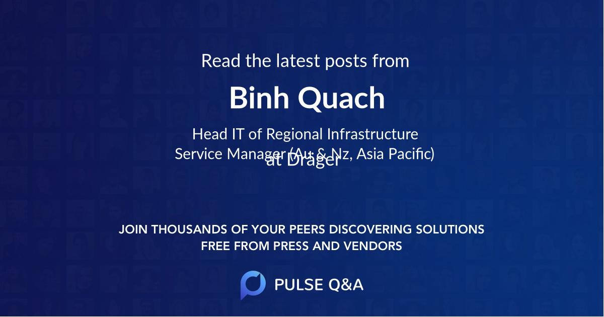 Binh Quach
