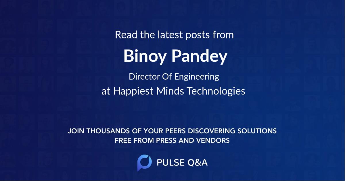 Binoy Pandey