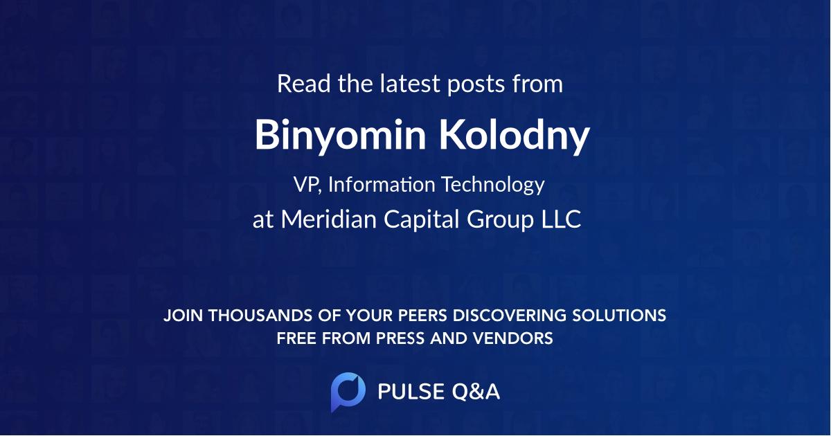 Binyomin Kolodny
