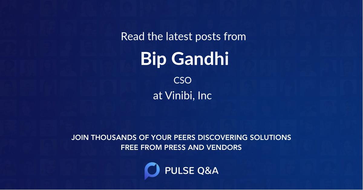 Bip Gandhi