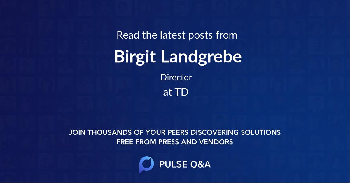 Birgit Landgrebe