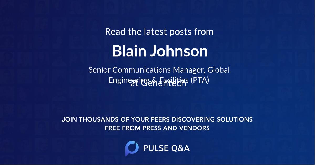 Blain Johnson