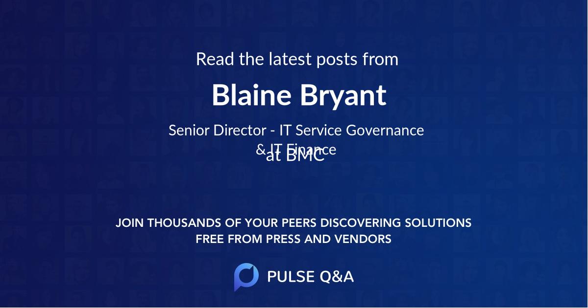 Blaine Bryant