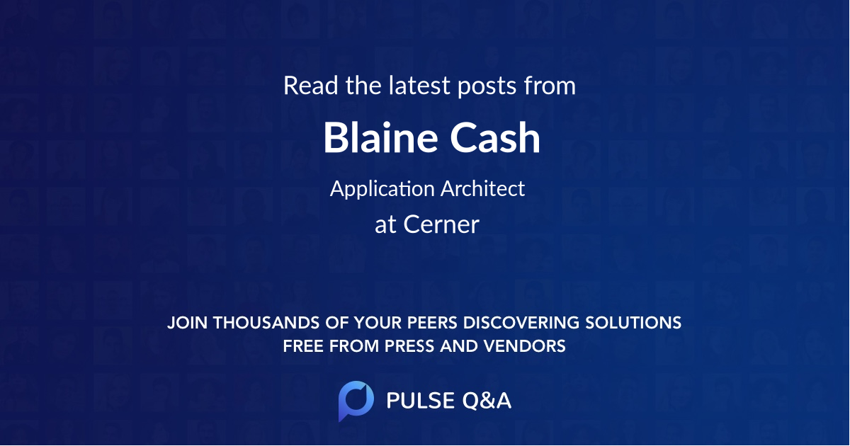 Blaine Cash