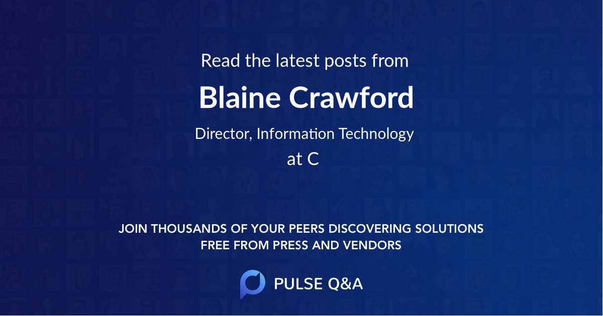 Blaine Crawford