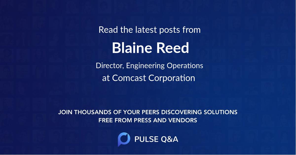 Blaine Reed