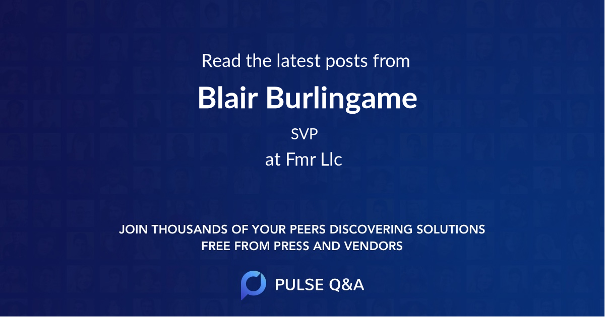 Blair Burlingame