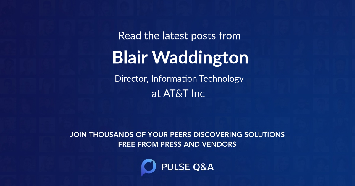 Blair Waddington