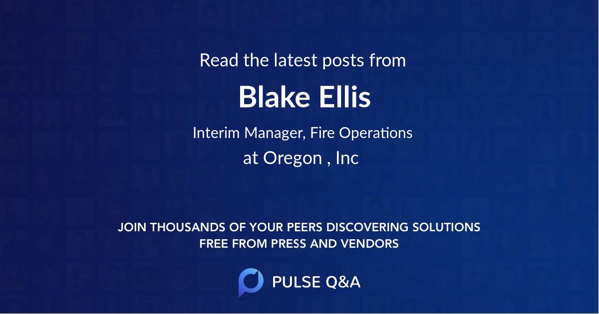 Blake Ellis