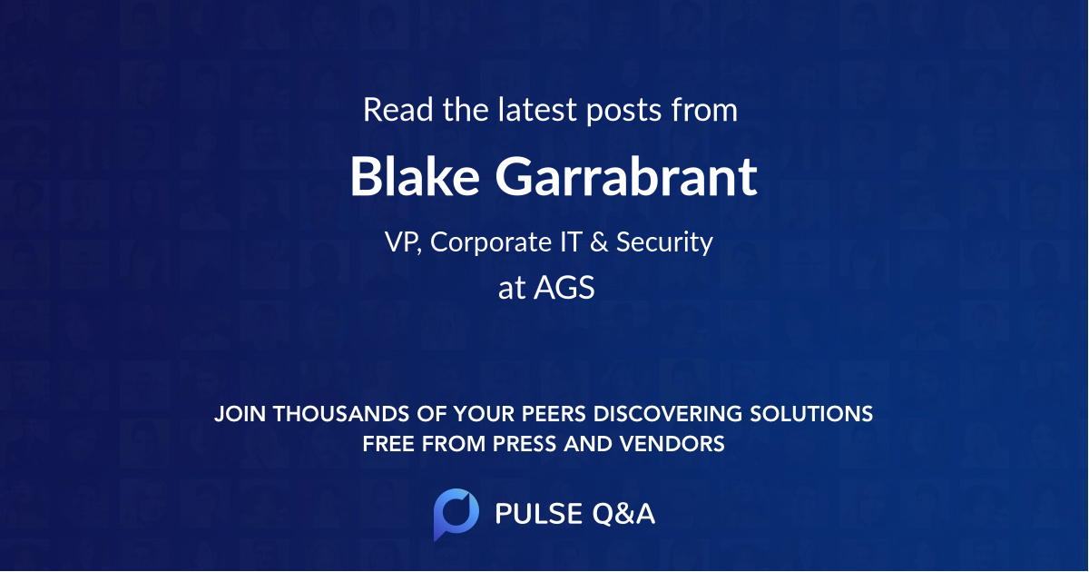 Blake Garrabrant