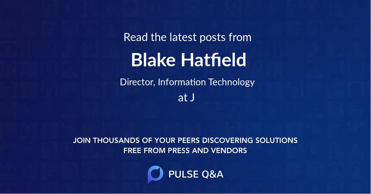 Blake Hatfield