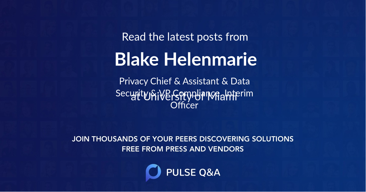 Blake Helenmarie