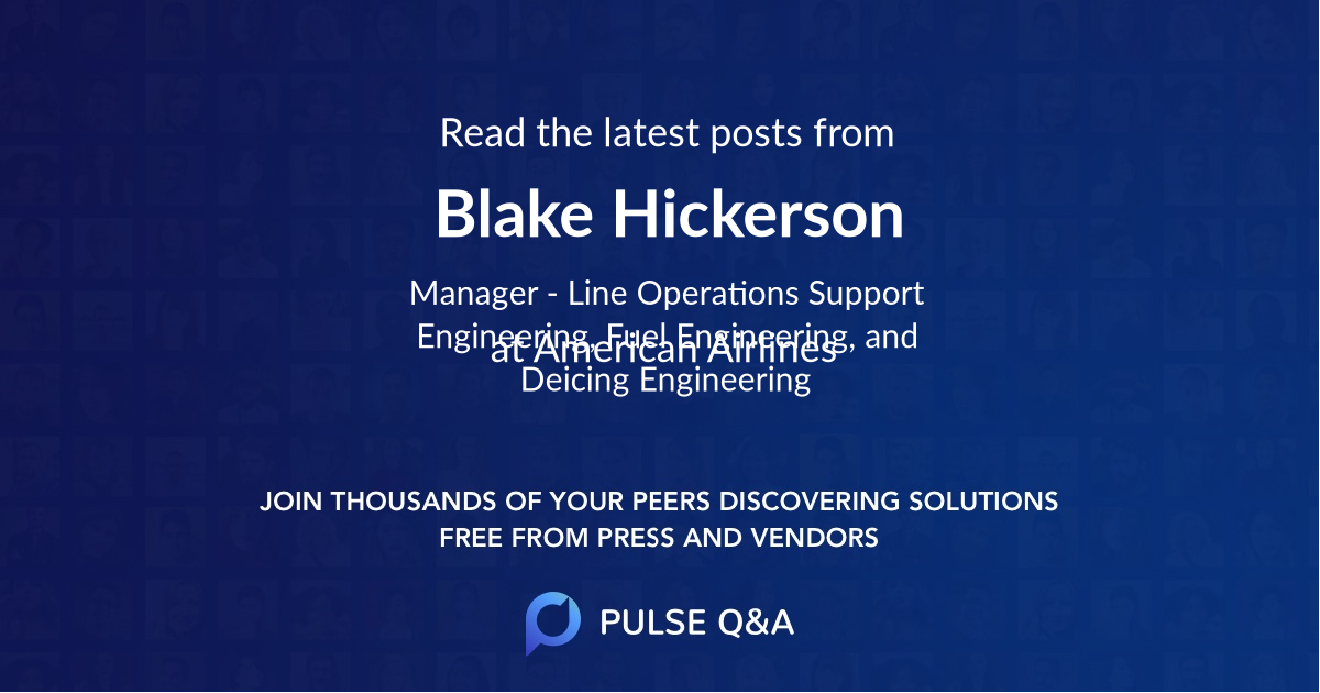 Blake Hickerson