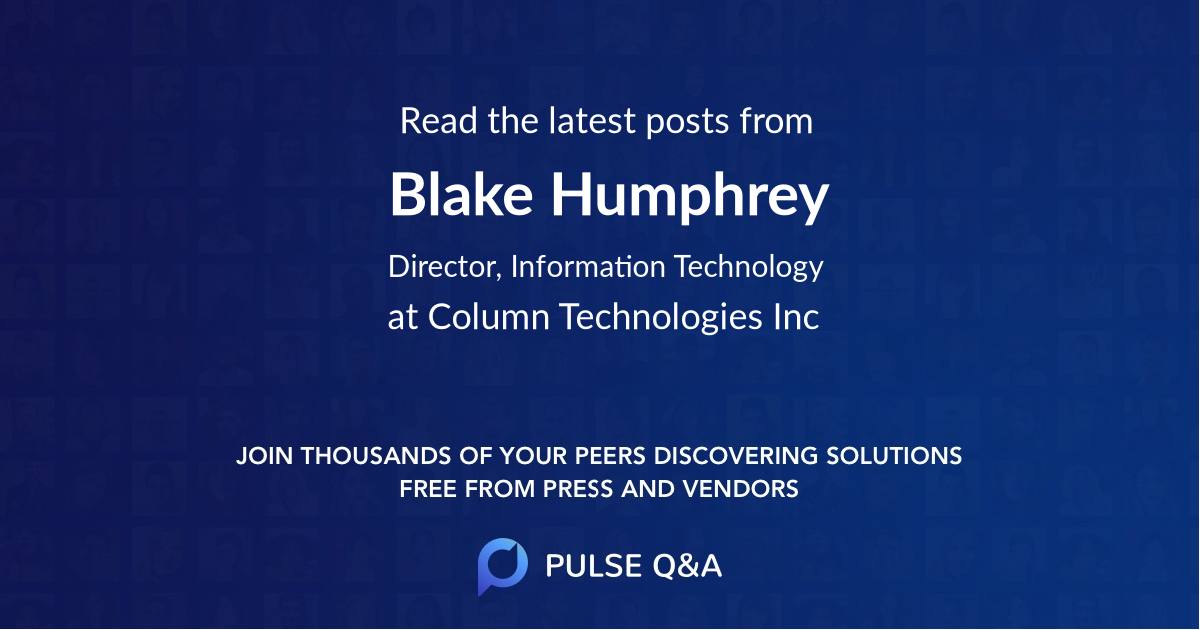 Blake Humphrey