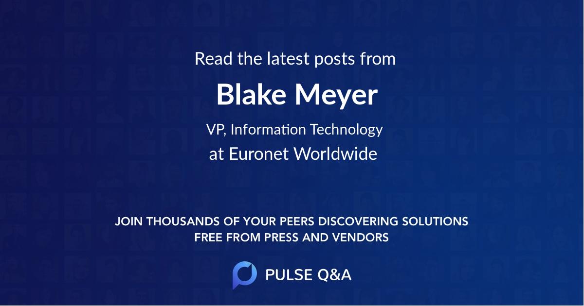 Blake Meyer