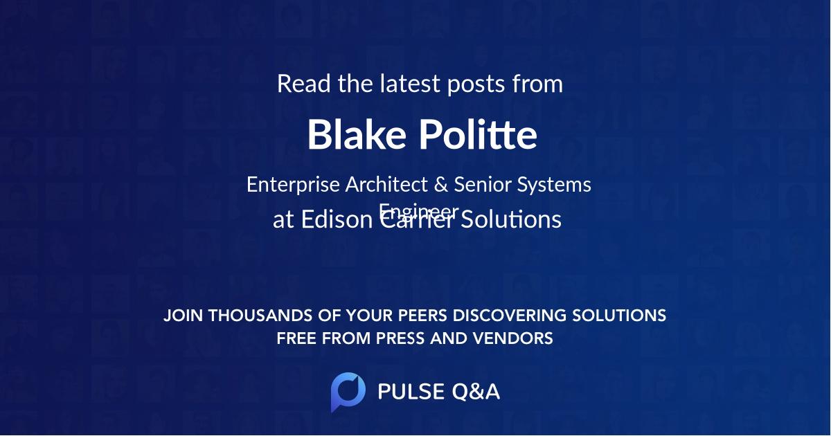Blake Politte