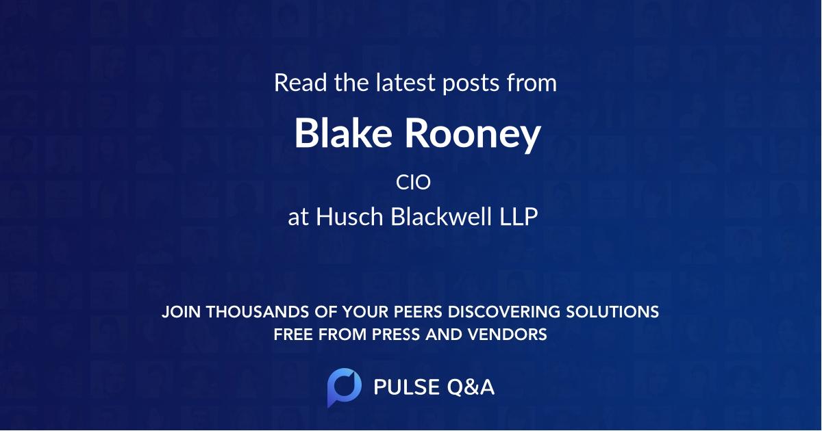 Blake Rooney