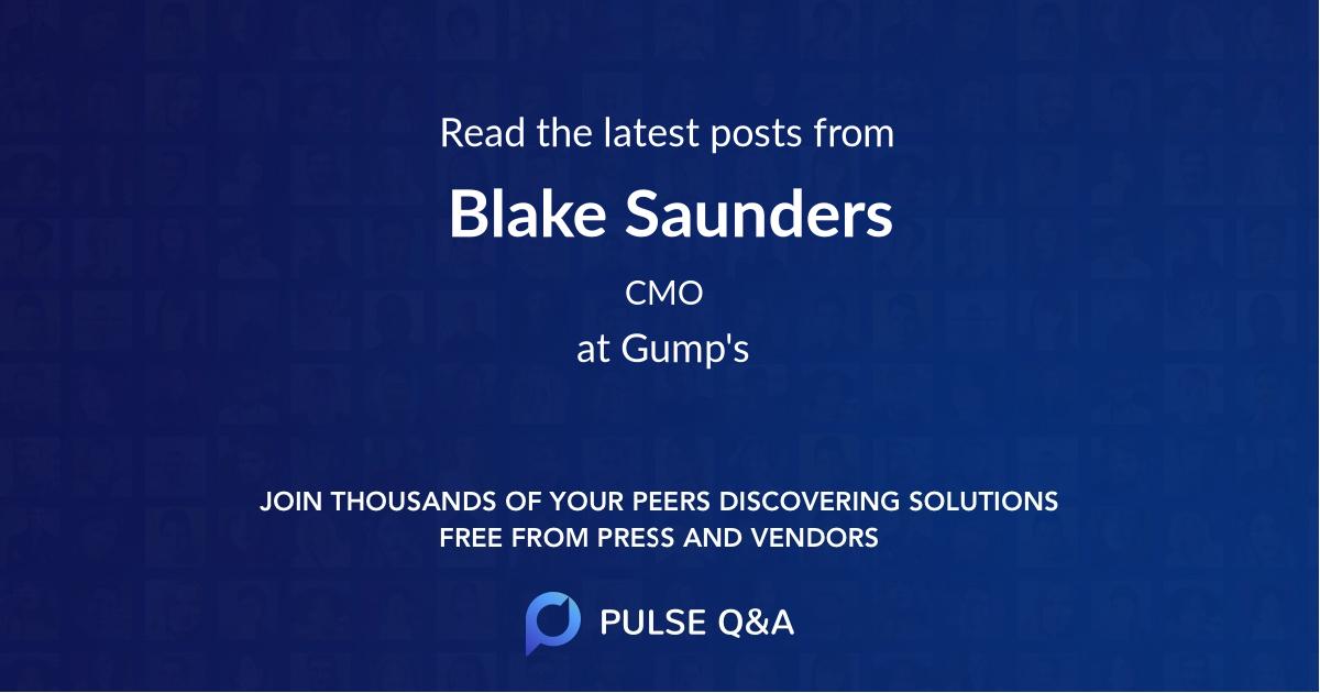 Blake Saunders